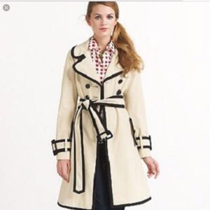 Kate spade piped trench NWOT perfect!